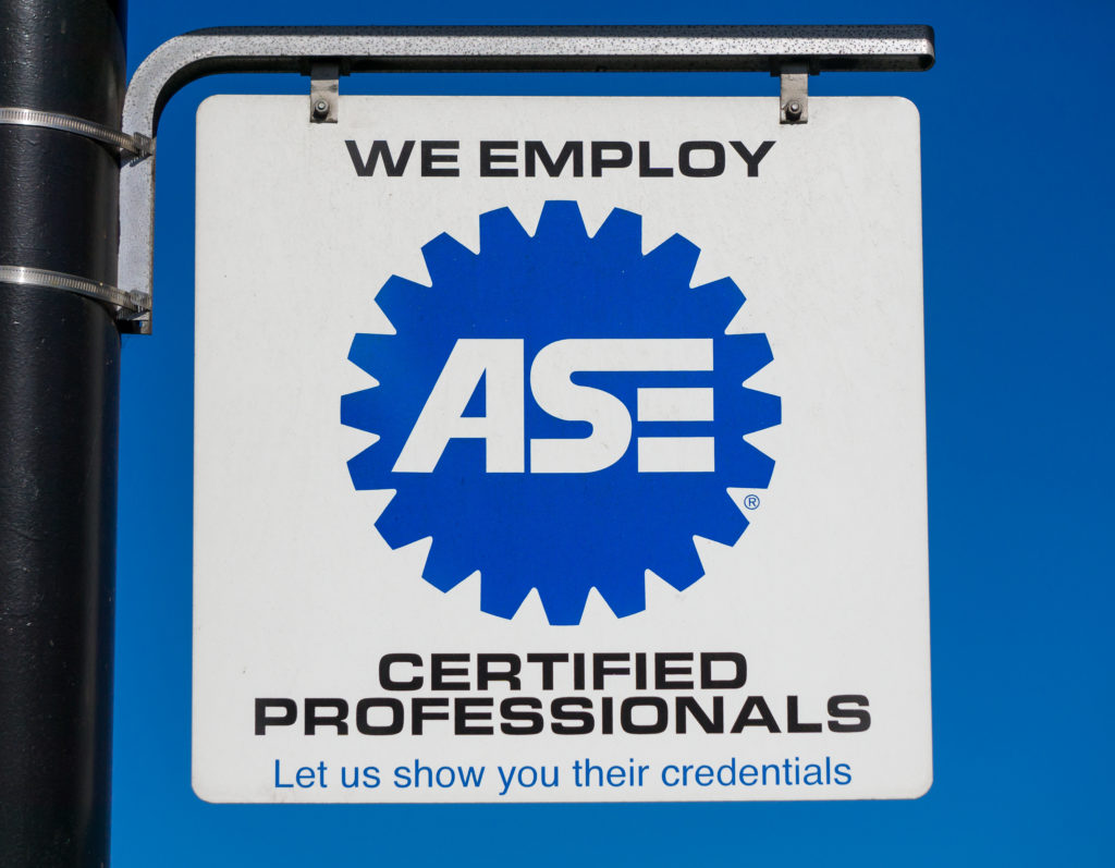 Benefits Of Having An Ase Certified Technician For Mercedes Benz
